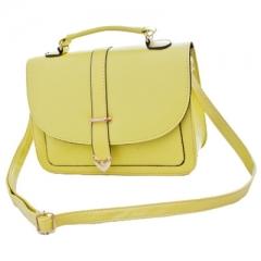 Toofn Handbag Sweet fashion Handbag shoulder bag Yellow