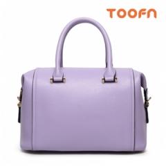 Toofn Handbag Boston Shoulder Sling Bag,Crossbody Bag Women Purple F