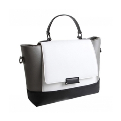 Toofn Handbag 2016 New Fashion Big Handbag 3071 White
