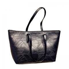 Christmas Gift Toofn Handbag Retro Minimalist Lady Handbag,Portable Hanging Shoulder bag Black F