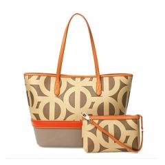 Toofn Handbag Fashion Handbag Shoulder Cross Bag,Satchel Bag Orange F