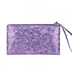 Toofn Handbag Stylish Ladies Clutch Wallets purple f