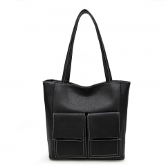 Toofn Handbag Famous Brands Hot Sale Female Single Shoulder Bag black f