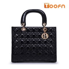 Toofn Handbag New Fashion Classic Portable Shoulder Satchel Bag