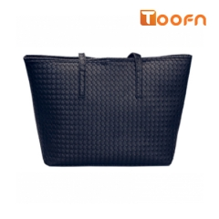 Toofn Handbag Tote Shoulder Bag Women Black F