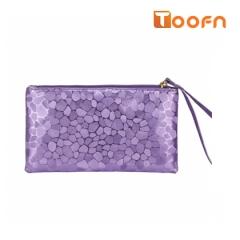 Toofn Handbag Stylish Ladies Clutch Wallets purple f