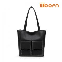 Toofn Handbag Famous Brands Hot Sale Female Single Shoulder Bag black f