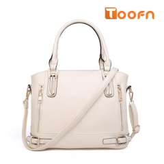 Toofn Handbag High Quality All-match Lady Messenger Bag white f