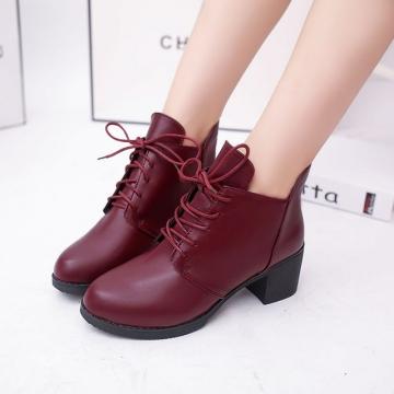 X000042 Hot new Women Fashions Boots Women's Shoes Ladies Female Plush Fur Shoes red 39