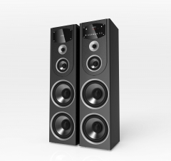 TAGWOOD TWIN TOWER HOME THEATER black 38000 mp-730B