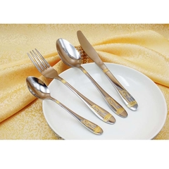 Loving Life--Tableware 24 Fork And knife set-06  (Kitchen item)