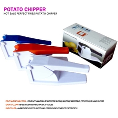 TAG Kitchen -Plastic Potato Chipper,Vegetable Chopper