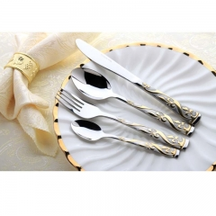 Loving Life--High Quality Tableware 24pcs Fork And knife set-01