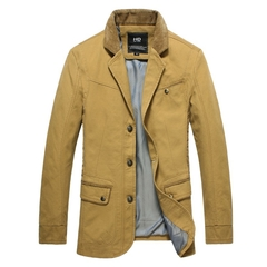 Men Fasion Suit Jackets112 yellow XXXL