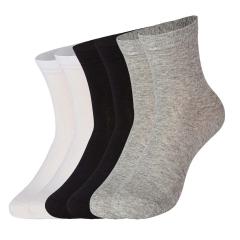 Men Socks(3pair) New Fashion US Size 6-15 100% Cotton Big Size Pure Color 008 wholesale a color set L