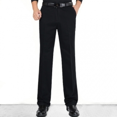 Straight waist Business Cotton Thick Suits Trousers, Suit Pants 501 29