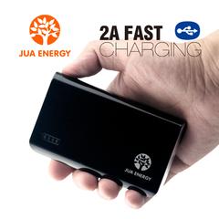 JPC201 6600mAh Power Bank Power Mate Mobile Powe Portable Charger Battery Black