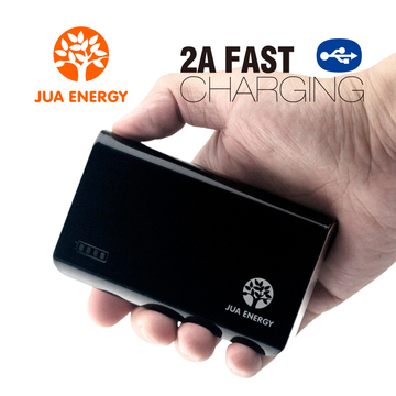 JPC201 6600mAh Power Bank Power Mate Mobile Powe Portable Charger Battery Black