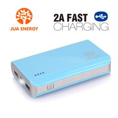 JPC201 6600mAh Power Bank Power Mate Mobile Power Portable Charger Battery Blue