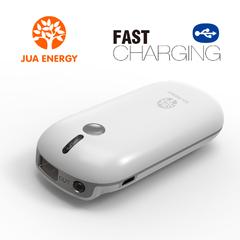 Jua Power Mate JPC101 4400mAh Mini Power Bank Power Mate Mobile Power Portable charger battery White