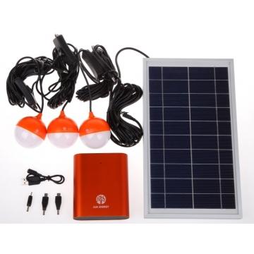 H1--Solar Home Lighting System orange 6.5W