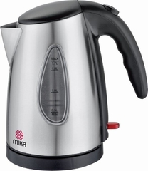 Mika Stainless Steel Cordless Kitchen Kettle 1.7L-MSK17CLC01