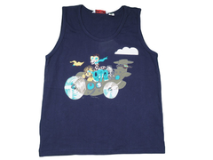 Childrens Vest Ages 5-9 Navy Blue