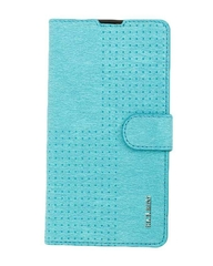 X510 Original Leather Flip Cover - Light Blue