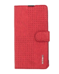 510 Original Leather Flip Cover - Dark Red