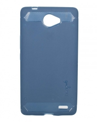 Tecno J8 Back Cover - Navy Blue