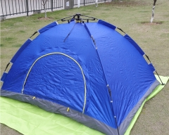 Automatic Setup Tent Outdoor Instant Camping Family 2 or 4 persons blue 2 persons