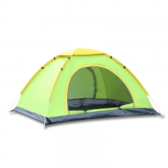Quick Automatic Setup Outdoor 2-4 Person Instant Tent Camping Family Tent green 2 persons