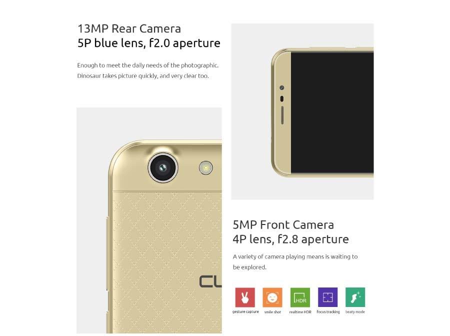 13MP/ 5MP Camera