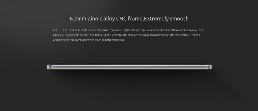 Zinnic Alloy Frame