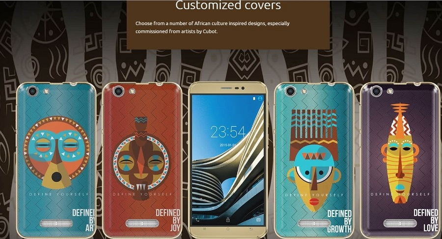 African Inspired Back covers