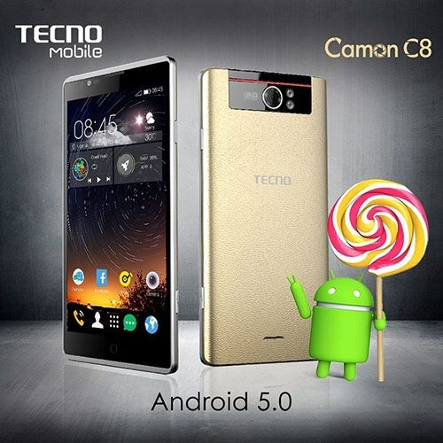 camon c8 android 5.0