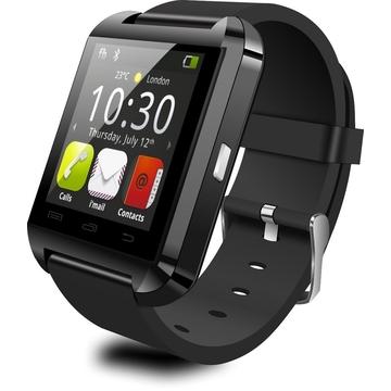 U8 Watch Smart U watch Phone For All Android phones like Samsung, Infinix, Tecno, Sony, Cubot Black