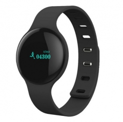 Bluetooth Smart Bracelet Band Sport Fitness Wristband H8 with Pedometer Step Calories Count Black .