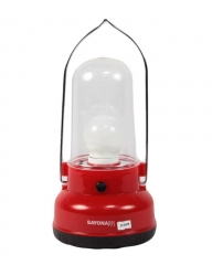 Sayona Rechargeable Lantern - SY 6050 - Red, Ideal for Camping,Outages &Emergencies