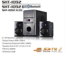 Sayona 2.1 Ch Subwoofer - 6000W PMPO SHT1092AC/DC Black 6000 Watts SHT1092AC/DC