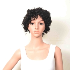 #1b,dl-106,Hot selling 100% huamn hair wig,Machine Made