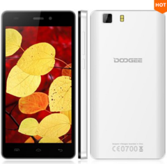 DOOGEE 5.0 1 GB RAM+8 GB ROM MTK6580 Quad Core  Android 5.1 White