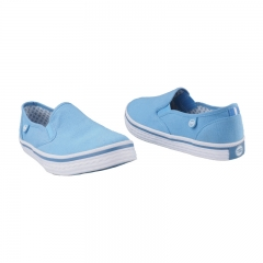 Stylish Bata Canvas Rubber Shoes - Blue-5599004 3