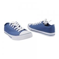 Unisex  Bata Canvas Rubber Shoes  - Blue-5899078 3