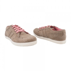 Comfy and Fashionable Canvas Shoes - Brown-5898045 3