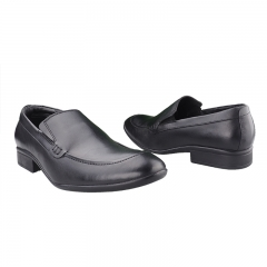 Quality leather formal shoes Black 6