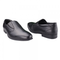 Quality Leather Bata Formal Shoes- Black-(8546650) 6