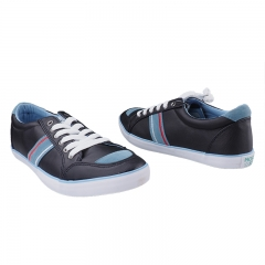 Fashionable Low Cut Bata Sneakers - Navy Blue-8816614 6