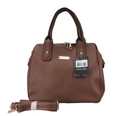 Ladies Handbag-Dark Brown-Marie Claire-Multiple compartments