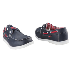 Boys Casual Bubblegummers Loafer with Fashionable Details Navy BLUE 3519014 6